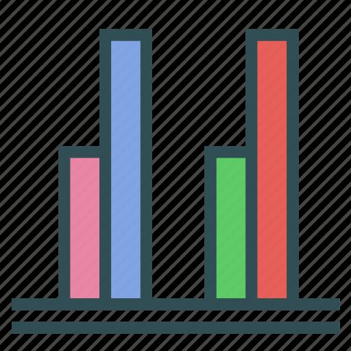 analysis, comparison, report, statistics icon