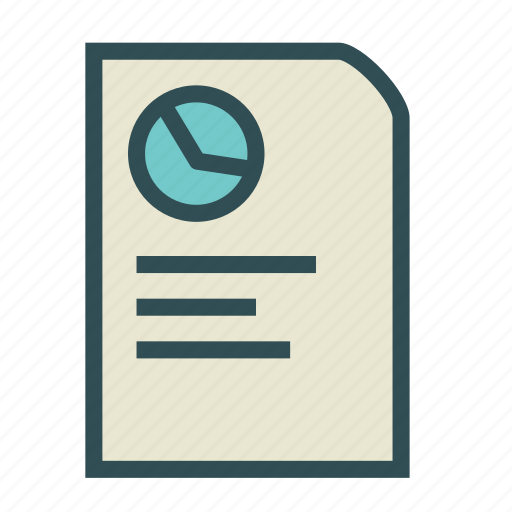 card, file, paper, report, time icon