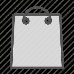 bag, plain, shop, store icon