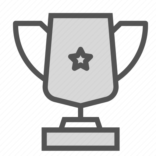 cup, gold, medal, prize, star icon