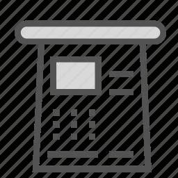 book, paper, presentation, report icon