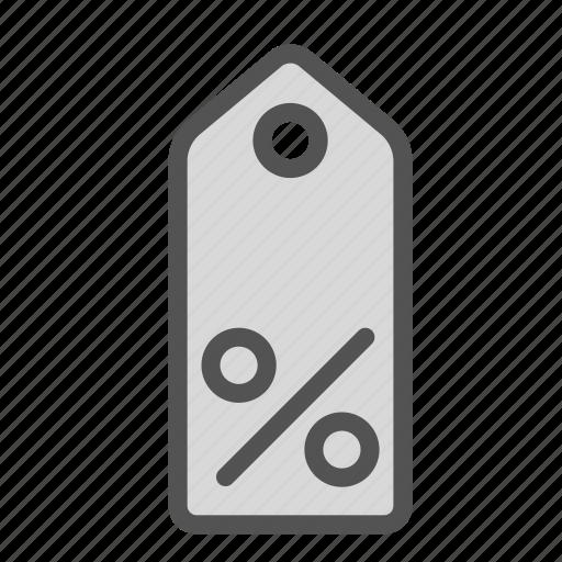 percent, sale, shop, store, tag icon