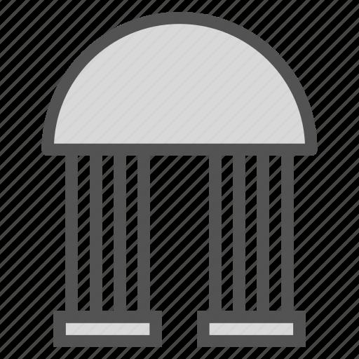 dome, entrance, gate, pillar icon