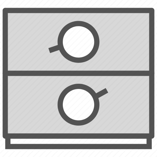 combination, dimmer, lock, safe icon