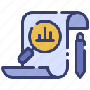 advertising, analysis, business, chart, marketing, promotion, research icon