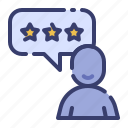 advertising, business, consumer review, marketing, promotion, rating, satisfaction icon