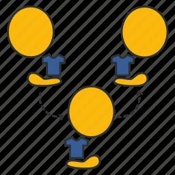 agent, broker, customer, dealer, distributors, intermediary, service icon