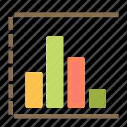 analysis, chart, presentation, report, statistic icon