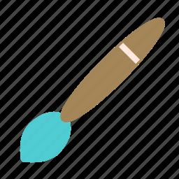 art, brush, paint icon