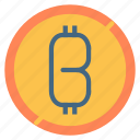 bitcoin, coin, digital, money icon