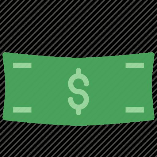 cash, dollar, money, paper icon