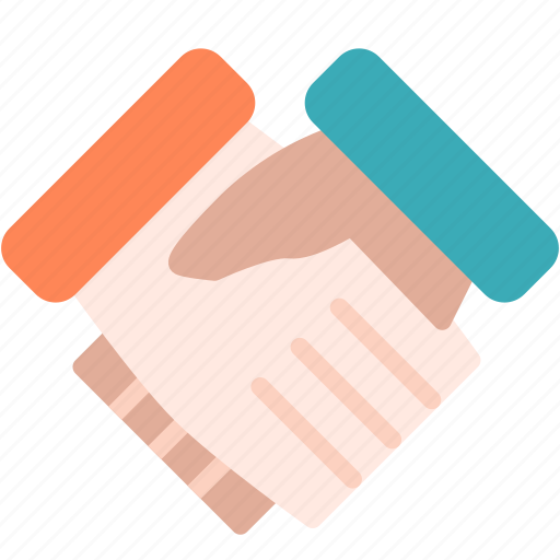 agreement, hand, shake icon