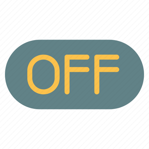 mark, off, plain icon
