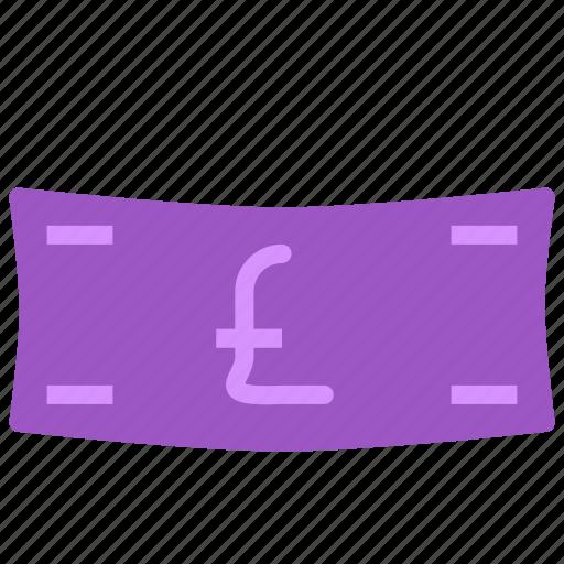 cash, money, paper, pound icon