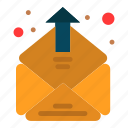 contact, email, inbox, mailing icon