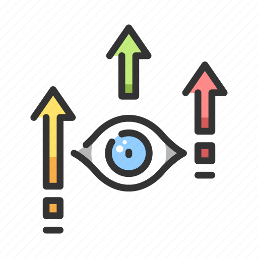 eye, growth, increase, increase visibility, traffic, visibility icon