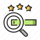 magnifying, marketing, optimization, search, search engine, seo, website icon