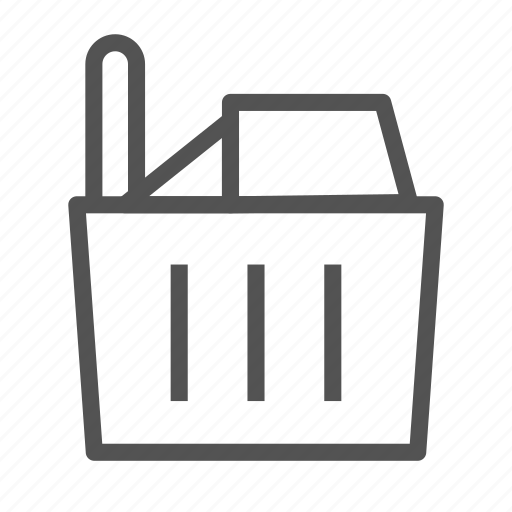 bascket, food, groceries, shop, store icon
