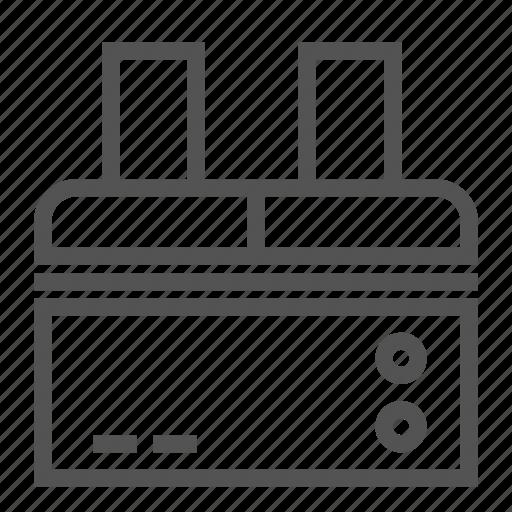 equipment, machine, office, print, scan icon