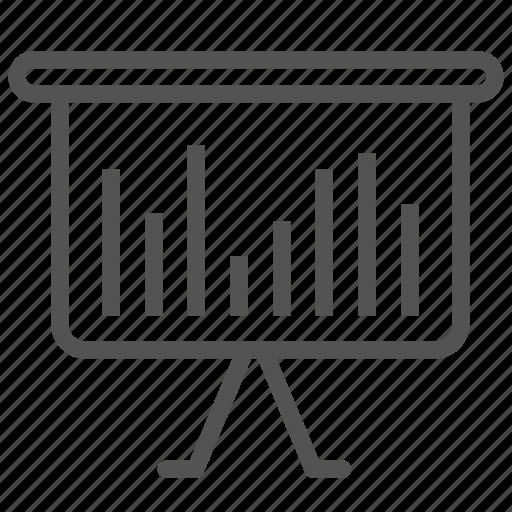 analysis, graph, report, statistics icon