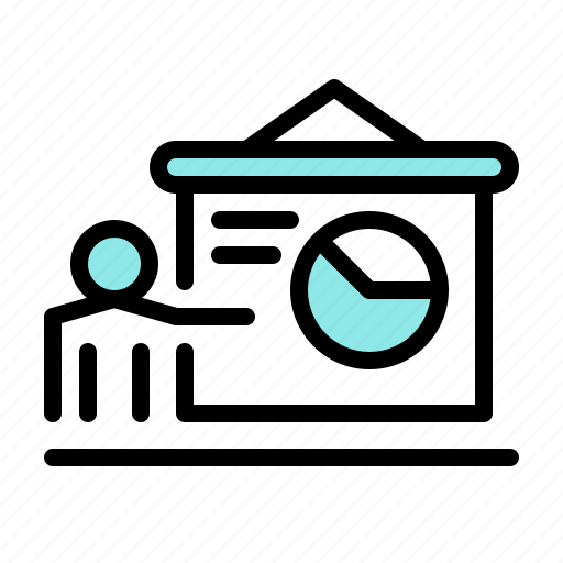 Chart, marketing, presentation, promotion, sales, seo, traffic icon - Download on Iconfinder