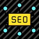 connection, marketing, seo icon