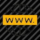 domain, marketing, seo icon