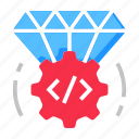 code, quality, seo icon