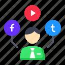 marketing, sharing, social