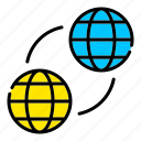 web, network, globe, integration