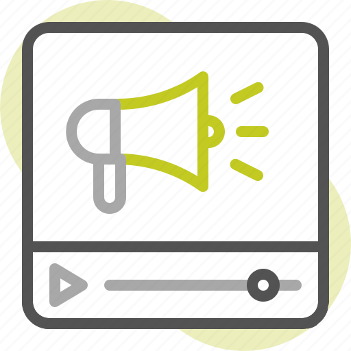 ad, advertising, business, marketing, promotion, seo, video commercial icon