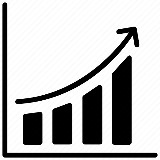 analytics, business growth, business report, sales growth, statistical analysis icon