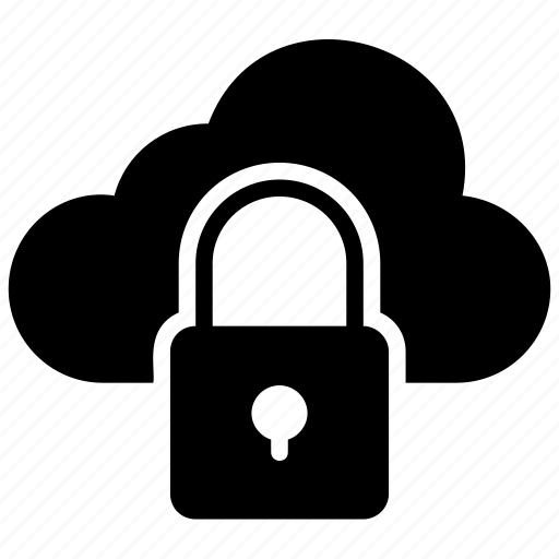 cloud computing, cloud protection, cloud security, data protection, online data icon