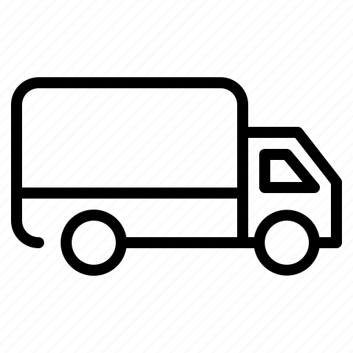 Courier, delivery, logistic, shipping, truck icon - Download on Iconfinder