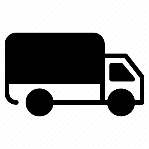 courier, delivery, shipping, truck, vehicle icon