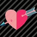 cupid, people love, lovers, heart, cupid heart, love, hearts icon