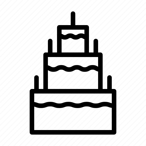cake, festival, love, party, wedding icon