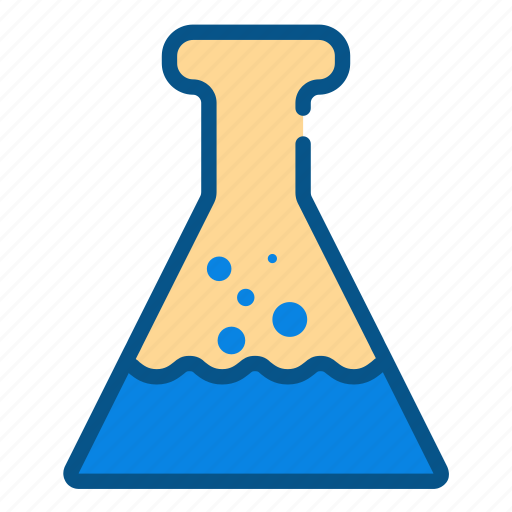 beaker, chemical, chemistry, laboratory, research, science, test tube icon