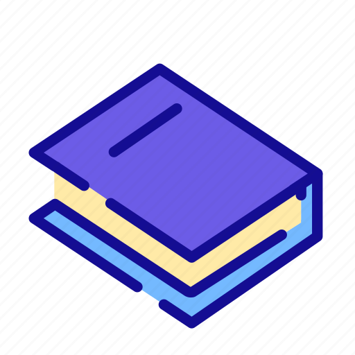 book, knowledge, learning, library, notebook, reading, study icon