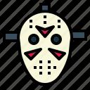 equipment, hockey, jason, mask, sport icon