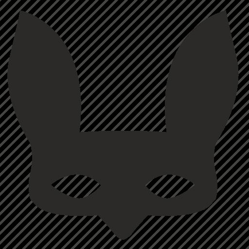 carnaval, face, fox, mask, secret, woman icon