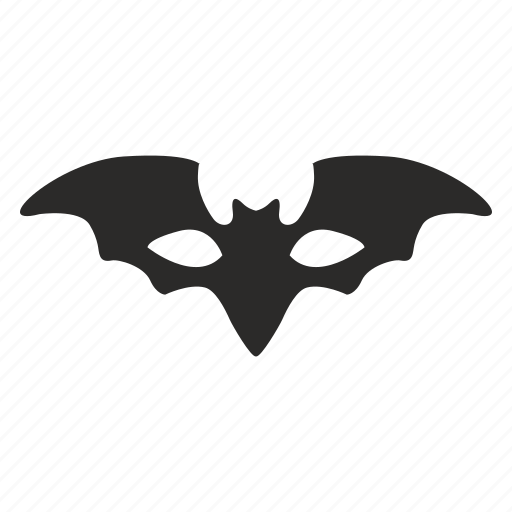 bat, batman, face, hero, mask icon