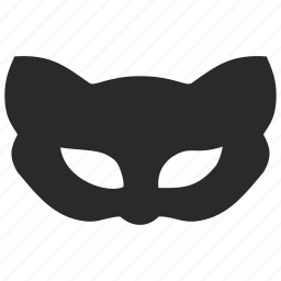 cat, face, kitty, mask icon