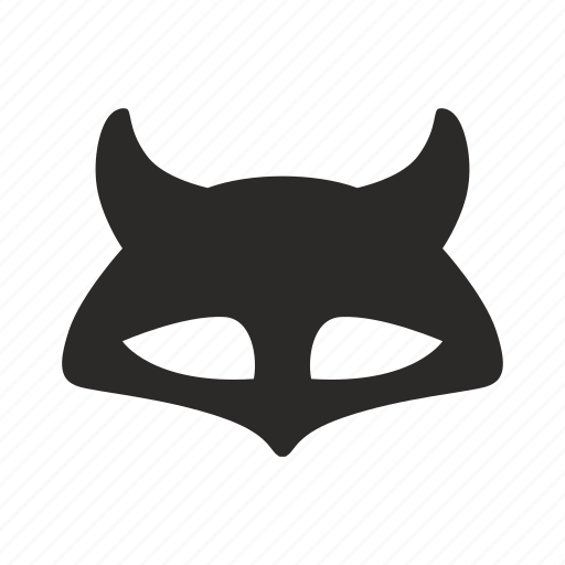 face, fox, mask icon