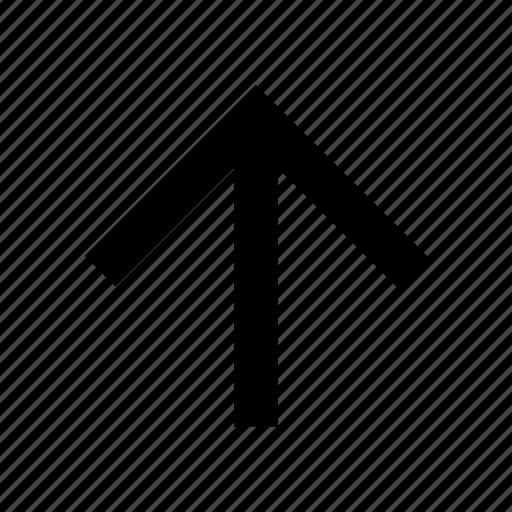 arrow, high, top, up icon