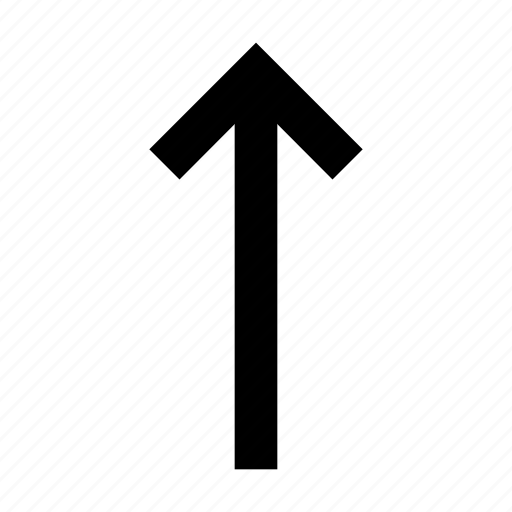 arrow, top, up icon