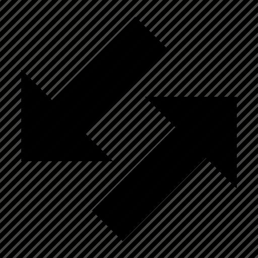 sorting, transfer icon