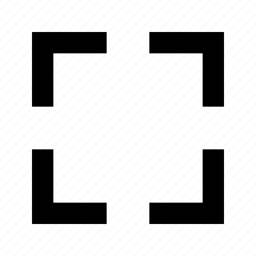 border, canvas, crop, focus, frame, shape icon