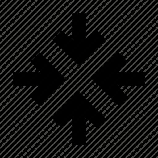 arrow, connect, move icon