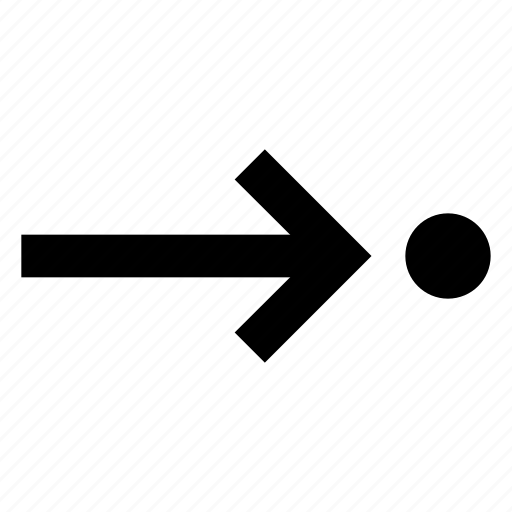 arrow, forward, route icon